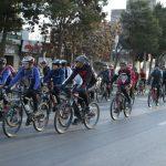 برگزاری همایش دوچرخه سواری در مشهد