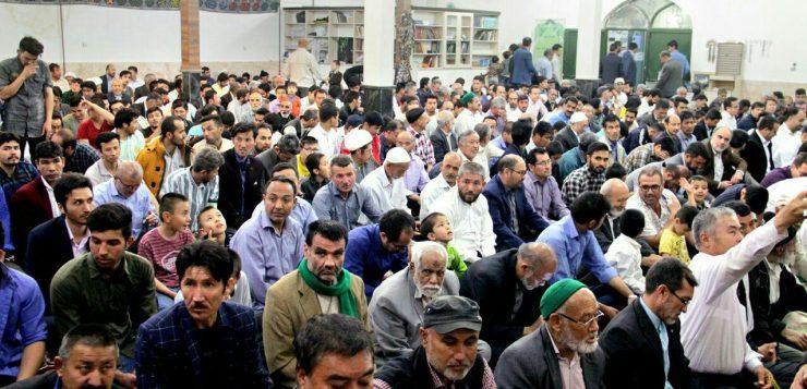 بزرگترین محفل انس با قرآن اتباع افغانستانی ساکن مشهد برگزار شد