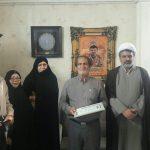 به مناسبت هفته معلم صورت گرفت؛دیدار هماهنگ کننده عقیدتی سیاسی ارتش در منطقه شالشرق با خانواده شهید سید مهدی جودی ثانی