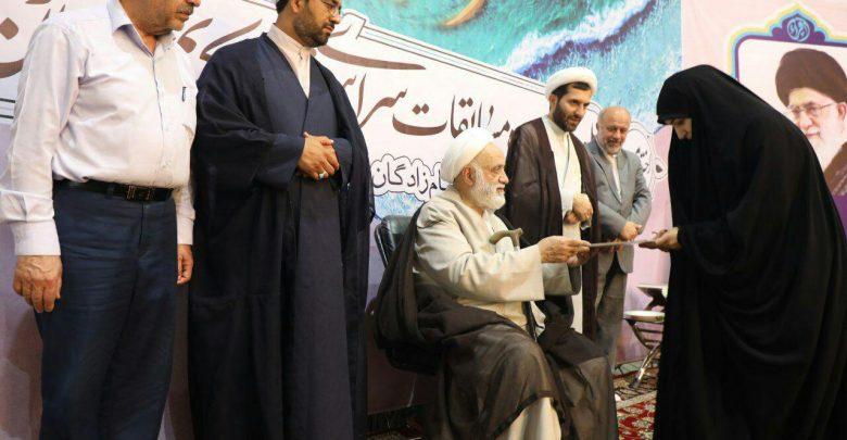 برگزیدگان مسابقات قرآن کریم خراسان رضوی در مشهد تجلیل شدند
